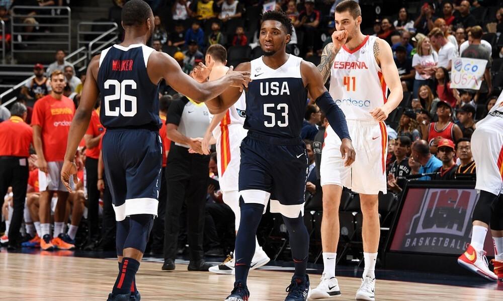 Έτσι έδωσε απαντήσεις η Team USA με την Ισπανία! (video)