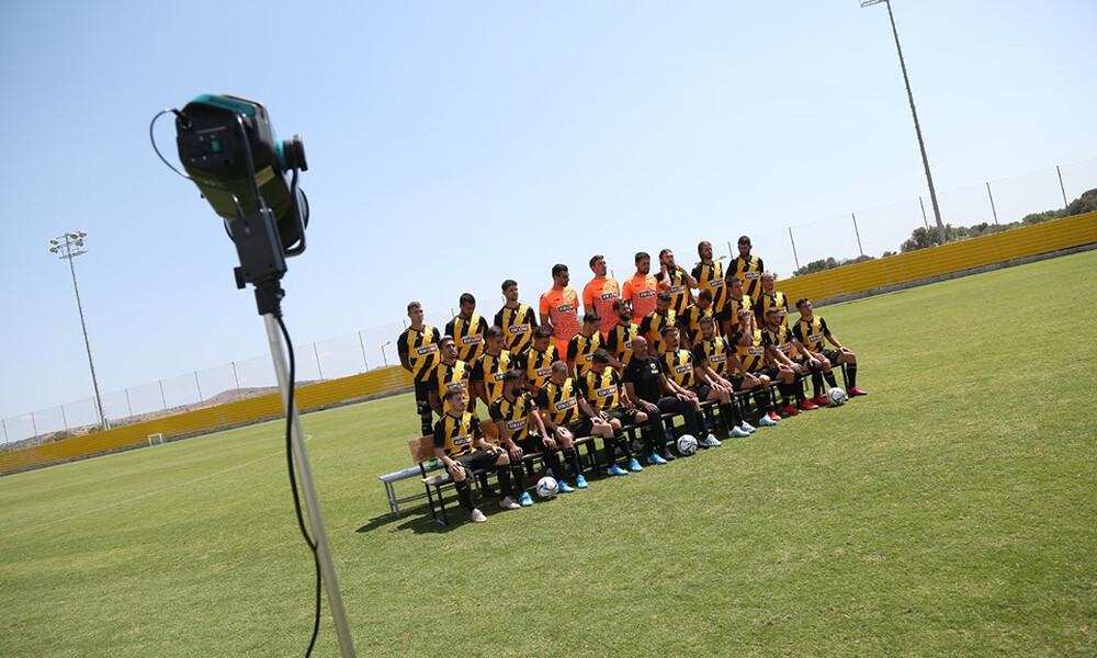 ΑΕΚ: Χαμόγελα και πλάκες στην επίσημη φωτογράφιση (photos)