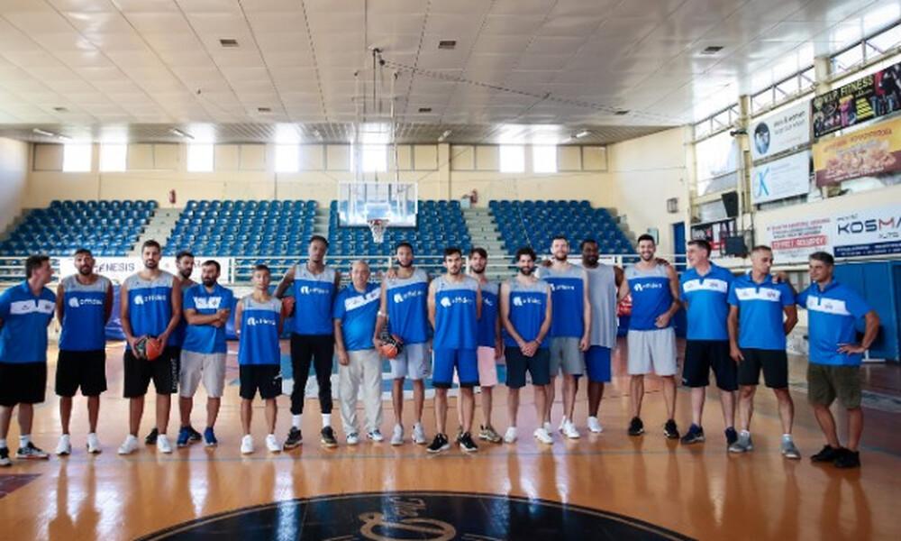 Ιωνικός Νικαίας: Έπιασαν δουλειά για την Basket League (photos)