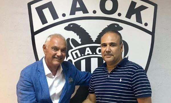 ΠΑΟΚ: Ανέλαβε και επίσημα ο Φλεβαράκης (photos)