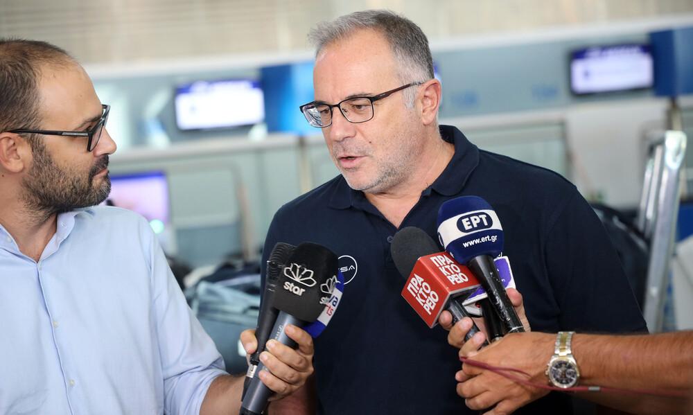 Σκουρτόπουλος: «Πολύ ενθαρρυντικά τα νέα για τον Σλούκα»