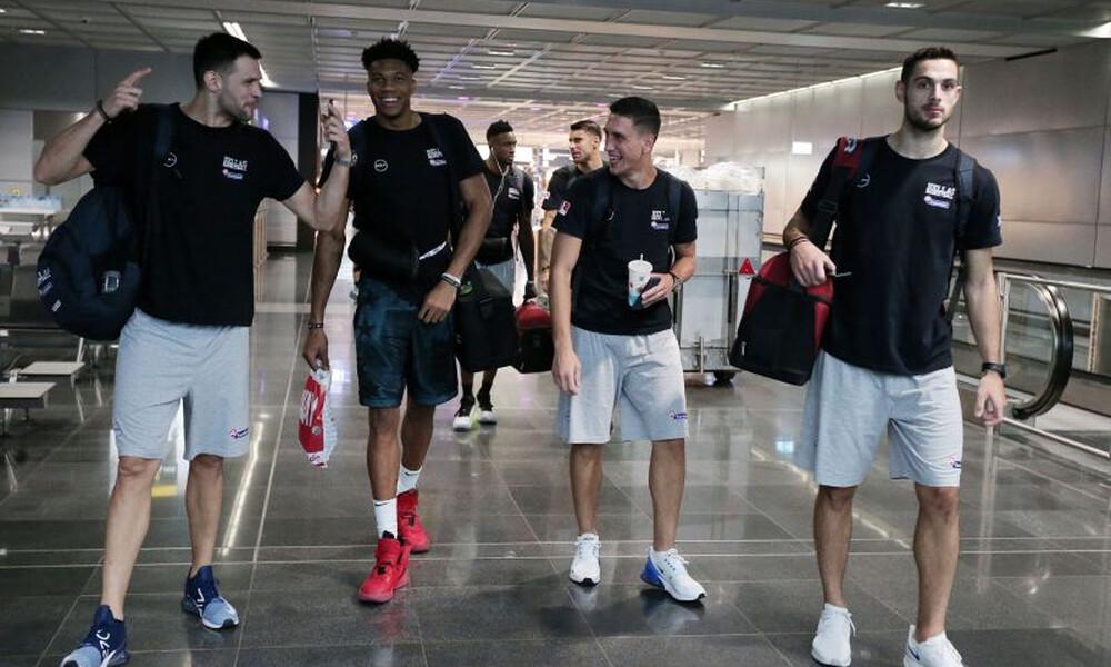 Παγκόσμιο Κύπελλο Μπάσκετ: Στη Σανγκάη η Εθνική Ελλάδας (photos)