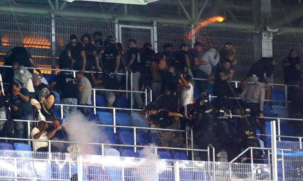 Βίντεο – σοκ: Σημάδευαν τους οπαδούς του ΠΑΟΚ με όπλο (video+photos)