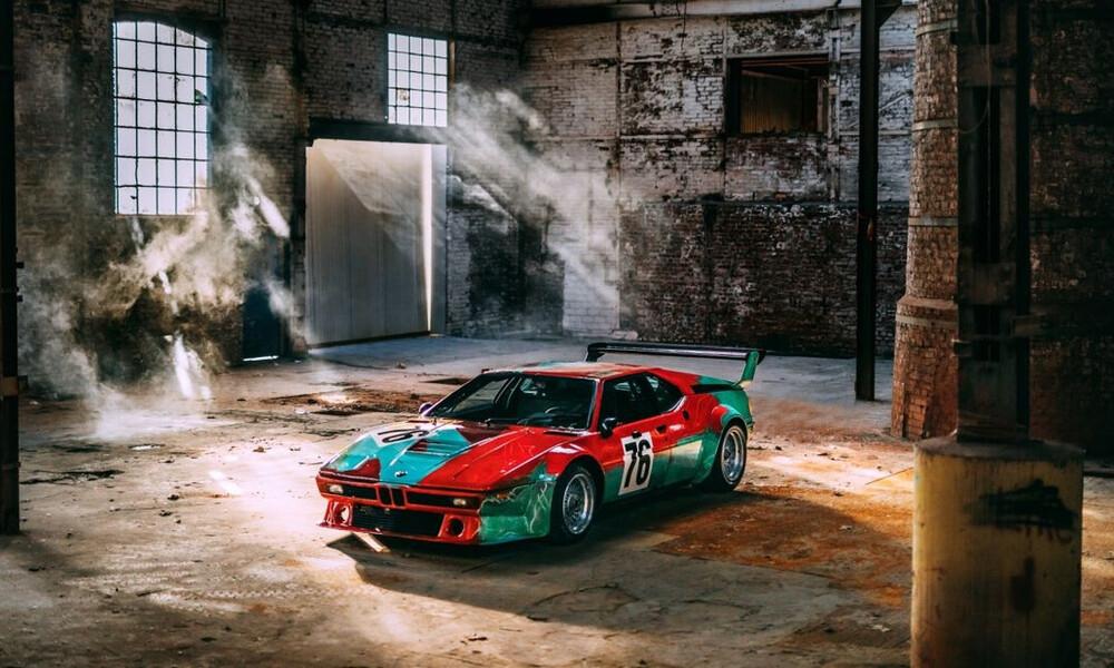 Ο Andy Warhol «άγγιξε» την BMW M1 και ένα αριστούργημα γεννήθηκε