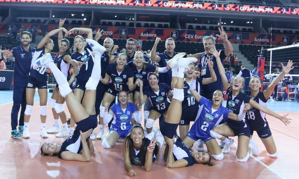 Εθνική βόλεϊ γυναικών: Νίκησε Φινλανδία και ετοιμάζεται για τους «16»