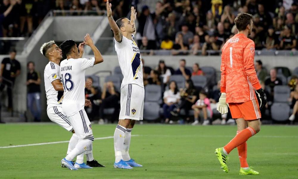Εντυπωσιάζει ο Ιμπραΐμοβιτς στο MLS (video)