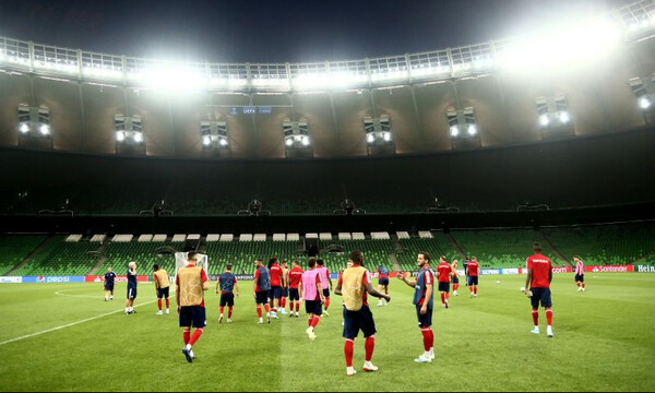 Κράσνονταρ – Ολυμπιακός: Πανέτοιμοι οι «ερυθρόλευκοι» - Τα πλάνα του Μαρτίνς (photos)