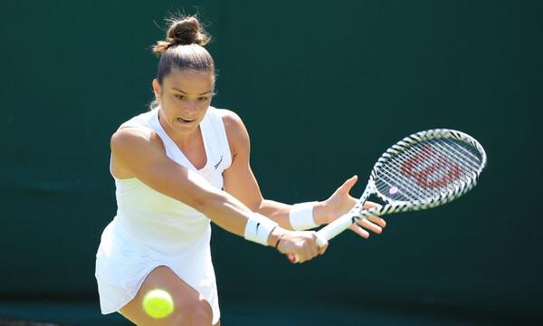 Στον δεύτερο γύρο του US Open η Μαρία Σάκκαρη