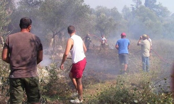 Φωτιά ΤΩΡΑ: Μεγάλη πυρκαγιά στην Κέρκυρα -Εκκενώνονται δύο χωριά