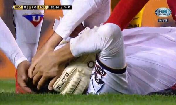 Κόπα Λιμπερταδόρες: Σοκαριστικός τραυματισμός στο Μπόκα-Κίτο (photos+videos)