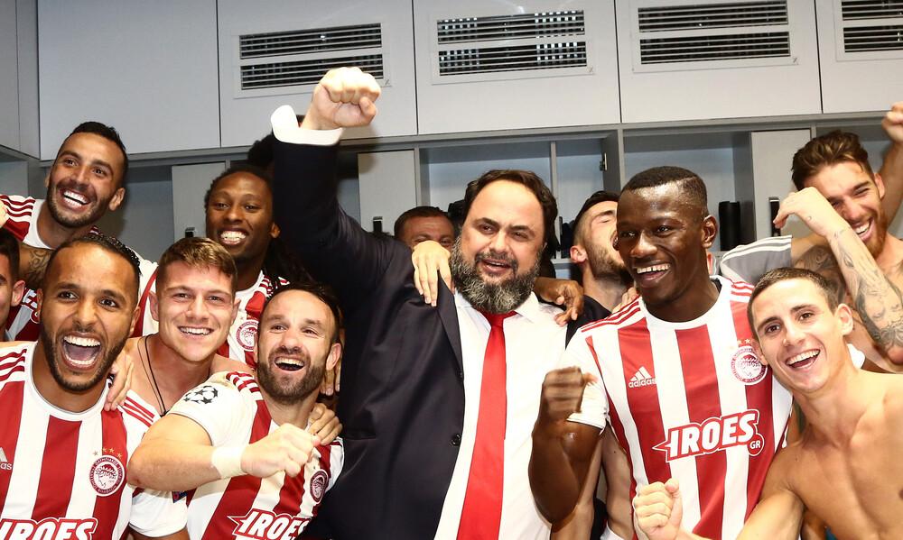 Ολυμπιακός: Στην κλήρωση του Champions League ο Μαρινάκης