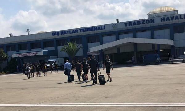 Τράμπζονσπορ-ΑΕΚ: Το ταξίδι στην Τραπεζούντα (video)