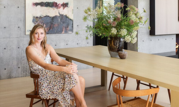 Maria Sharapova: Δείτε το εντυπωσιακό σπίτι της με την αίθουσα bowling (vid)