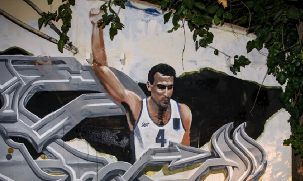 Κατέστρεψαν ξανά το γκράφιτι του Γκάλη (photos)