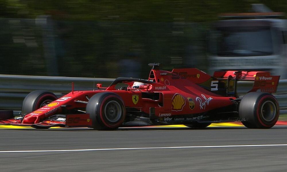 Έκανε πάρτι η Ferrari: Σαν... σίφουνας στο Βέλγιο ο Λεκλέρκ!