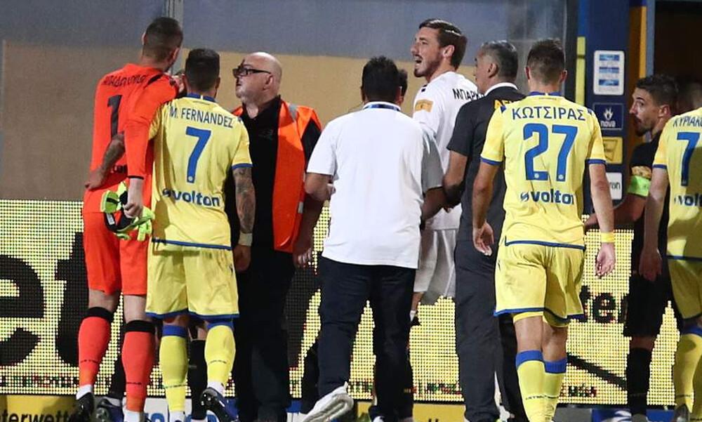 Αστέρας Τρίπολης-ΑΕΚ: Αποχώρησε ο Ολιβέιρα, ένταση στη φυσούνα! (photos)