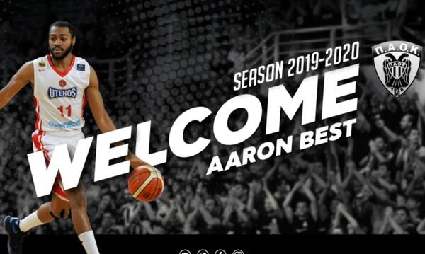 ΠΑΟΚ: Ανακοίνωσε τον Άαρον Μπεστ (video)