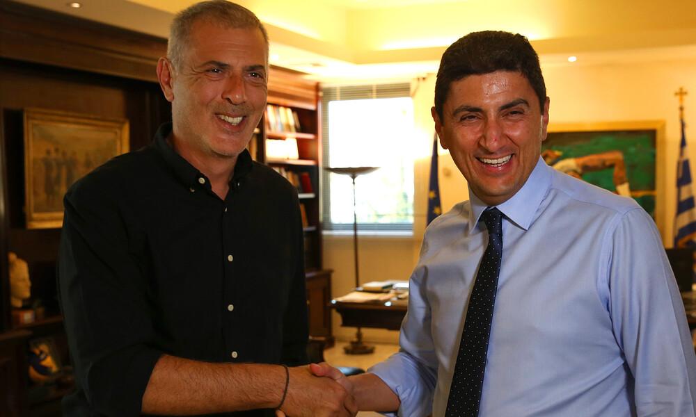 Ολυμπιακός: Συνάντηση Μώραλη-Αυγενάκη, έγινε κουβέντα και για το VAR
