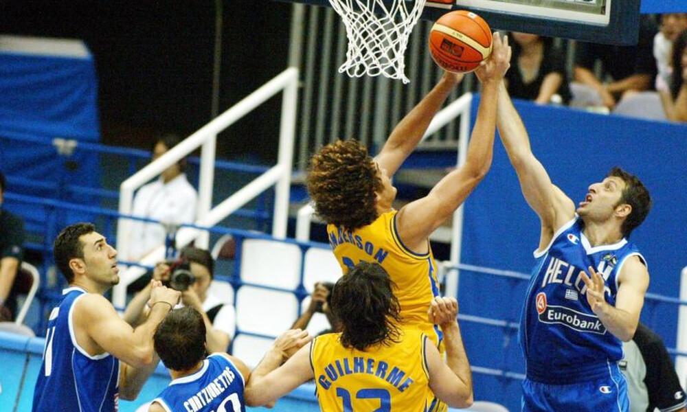 Βραζιλία – Ελλάδα: Το πέμπτο ραντεβού σε Μουντομπάσκετ (videos+photos)