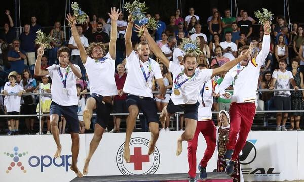 Παράκτιοι Μεσογειακοί Αγώνες: Σάρωσε τα μετάλλια η Ελλάδα - Ο ΟΠΑΠ Χρυσός Χορηγός της διοργάνωσης