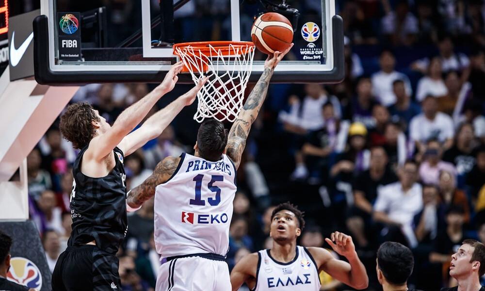 Ελλάδα – Νέα Ζηλανδία: Έτσι πέρασε στους «16» του Μουντομπάσκετ η «γαλανόλευκη» (video)
