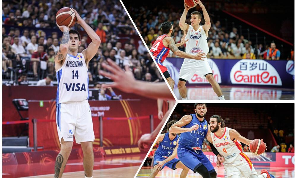 Παγκόσμιο Κύπελλο Μπάσκετ 2019: Προκρίσεις για Ισπανία, Αργεντινή, Σερβία και Πολωνία