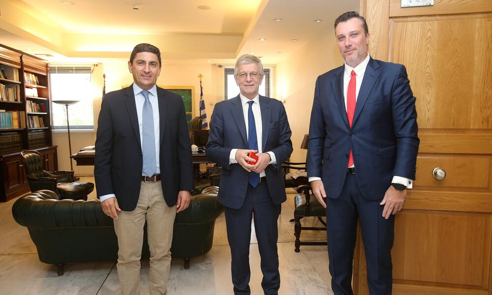 Συνάντηση ΚΑΕ Ολυμπιακός με Αυγενάκη
