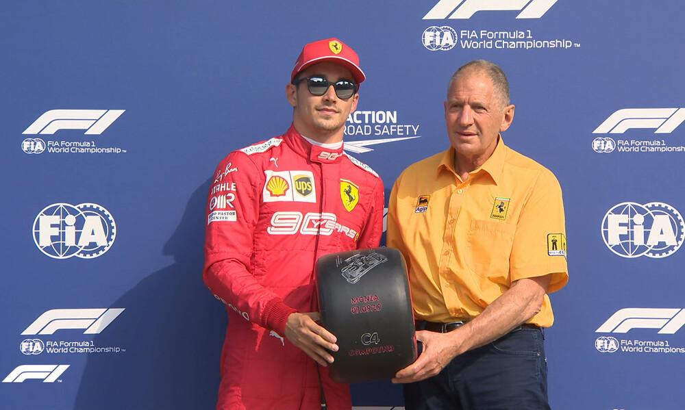 Formula 1: Pole position και στη Μόντσα ο Λεκλέρκ (photos)