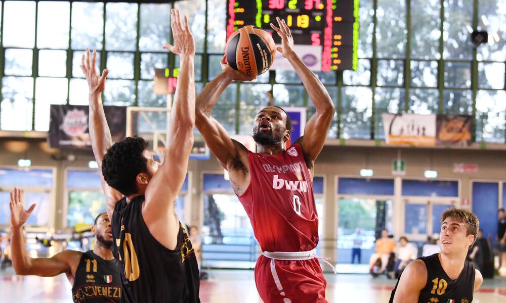 Ολυμπιακός: Νίκησε τη Βενέτσια στο Lucca Tournament (photos)