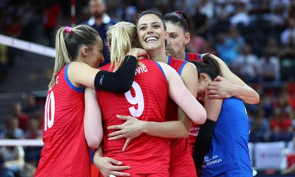 Ευρωπαϊκό πρωτάθλημα βόλεϊ γυναικών: Σερβία και Τουρκία στον τελικό