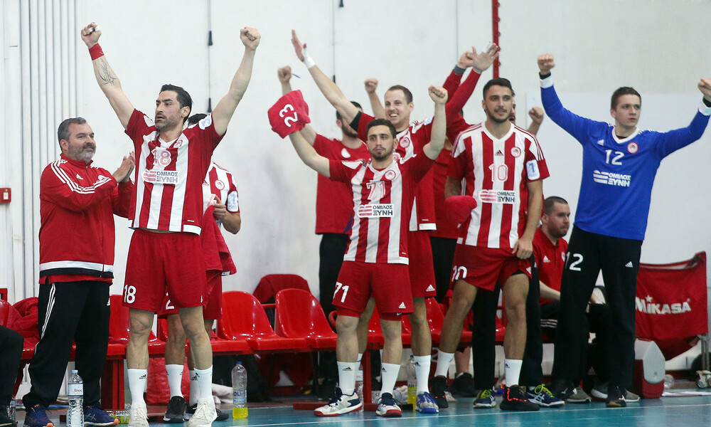 EHF Cup Ανδρών: Πρόκριση με δύο νίκες για τον Ολυμπιακό