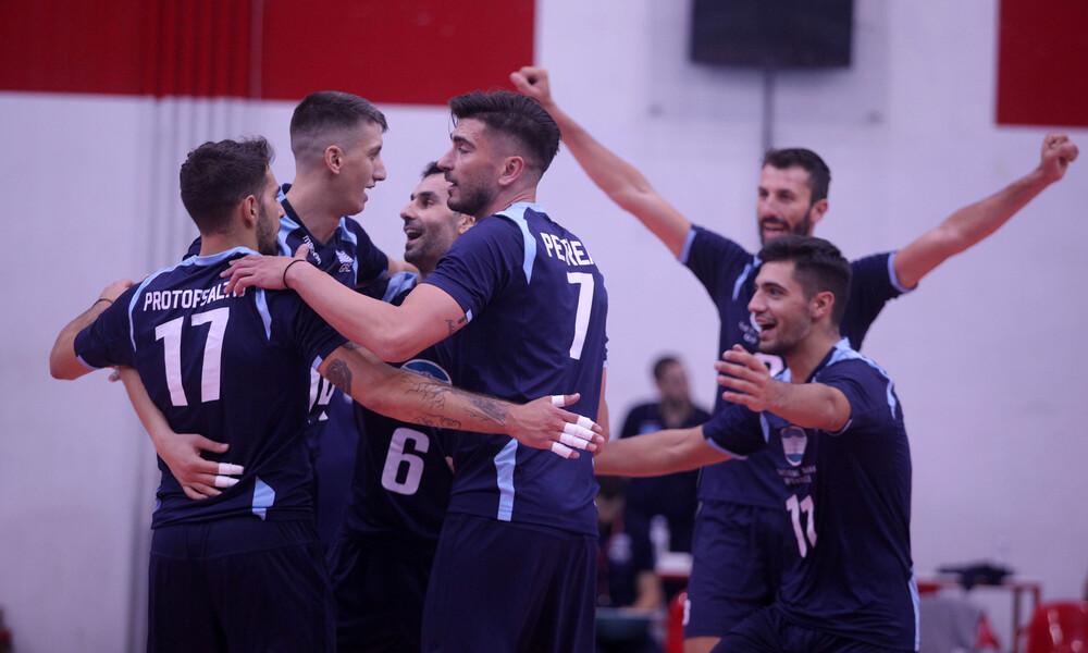 Εθνική βόλεϊ Ανδρών: Φινάλε με νίκη στα φιλικά με Σλοβακία