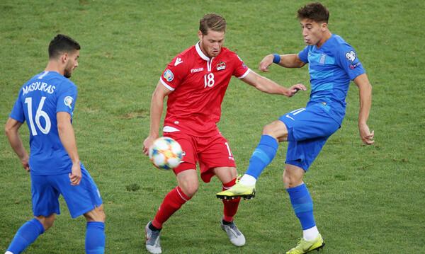 Ελλάδα-Λιχτενστάιν: Πρώτο γκολ με την Εθνική για Μασούρα (video)