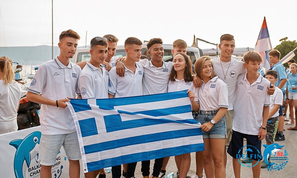 Στα μετάλλια οι Έλληνες ιστιοπλόοι στο 52ο Βαλκανικό πρωτάθλημα
