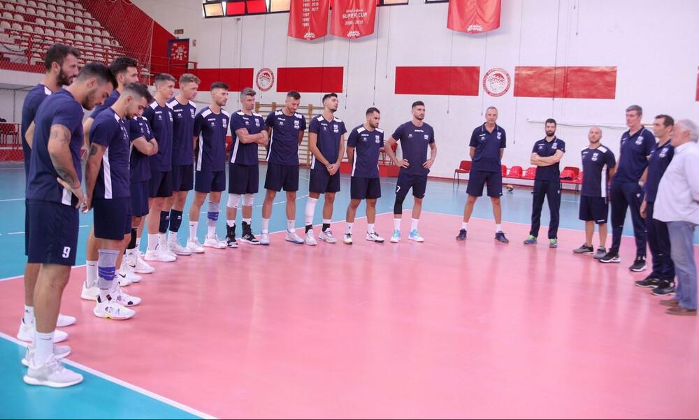 Έτοιμη για το Euro η Εθνική βόλεϊ των ανδρών (videos+photos)