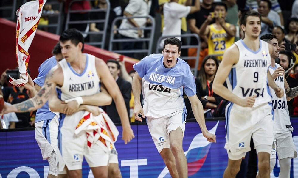 Μουντομπάσκετ 2019: «Τρελό»… πάρτι στα αποδυτήρια της Αργεντινής (video+photos)