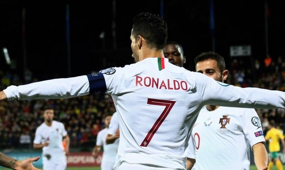Ρονάλντο: «Σημαντικό να βοηθάω την Εθνική, όχι η Χρυσή Μπάλα» (photos)