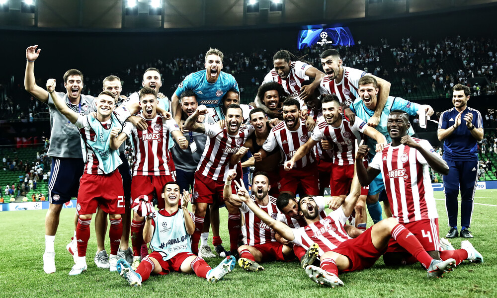 Ολυμπιακός: Στη 18η θέση σε συγκέντρωση βαθμών στο Champions League