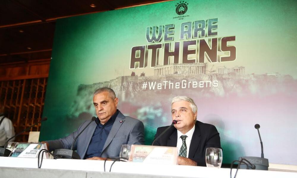 Μάνος Παπαδόπουλος: «Ομάδα-σύμβολο της Αθήνας ο Παναθηναϊκός» (video)
