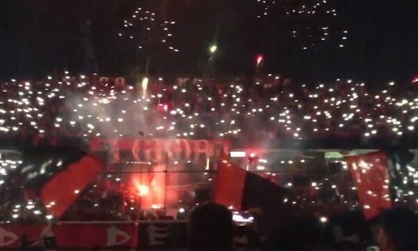 Απίθανη ατμόσφαιρα σε… προπόνηση στην Αργεντινή (video)