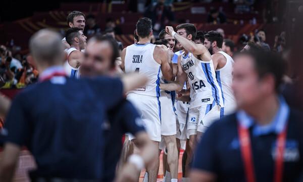 Παγκόσμιο Κύπελλο Μπάσκετ 2019: Το τρελό πάρτι της Αργεντινής (video+photos)