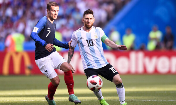 Παγκόσμιο Κύπελλο μπάσκετ 2019: Υποκλίθηκε στην Αργεντινή ο Μέσι (photo)