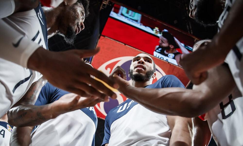 Παγκόσμιο Κύπελλο Μπάσκετ 2019: Ολοκληρώνεται το «ταξίδι» για ΗΠΑ, Πολωνία, Σερβία και Τσεχία
