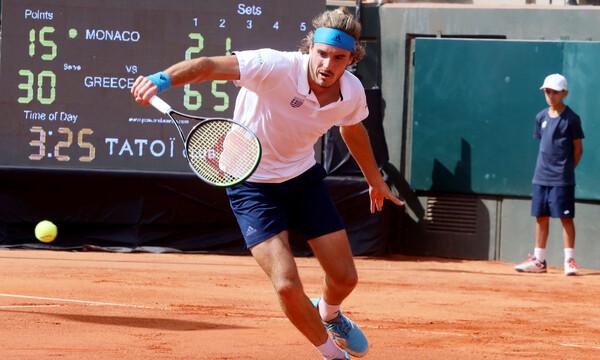 Davis Cup: Νέα νίκη για Τσιτσιπά