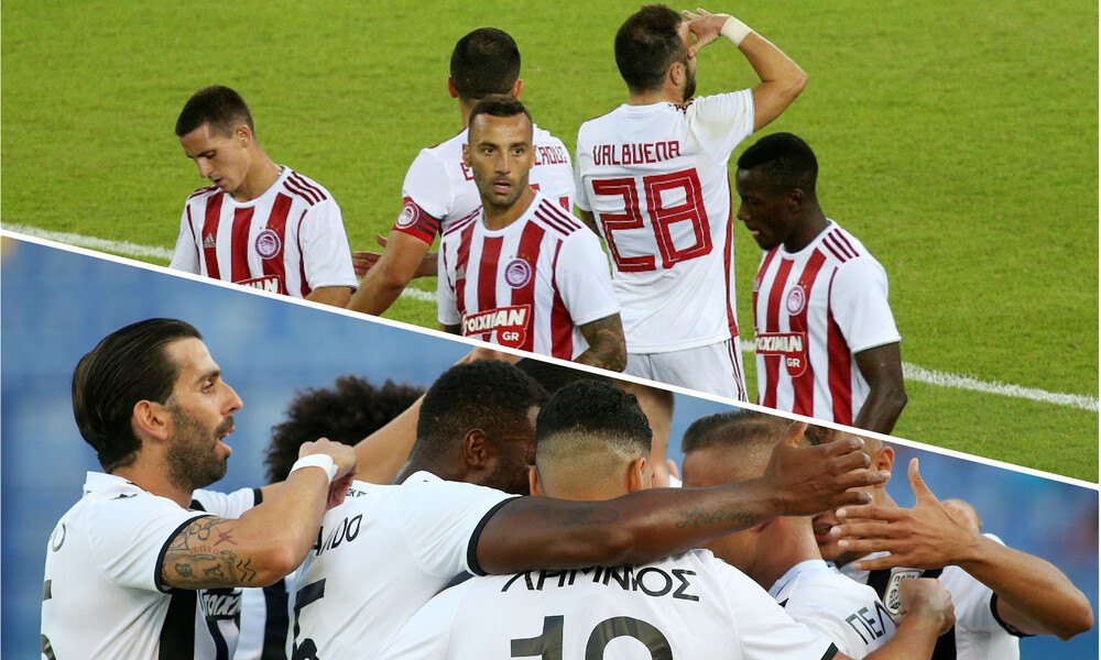 Super League: Συγκάτοικοι ΠΑΟΚ και Ολυμπιακός στην κορυφή (photo)