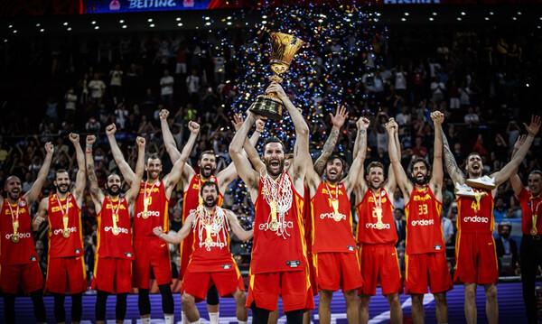 Παγκόσμια Πρωταθλήτρια η Ισπανία, 95-75 την Αργεντινή (video+photos)