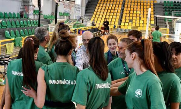 Βόλεϊ Γυναικών: Πρώτη φιλική νίκη για τον Παναθηναϊκό