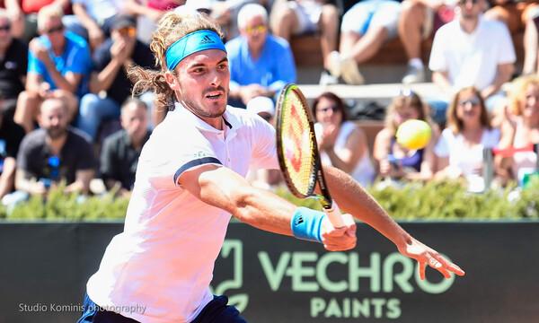 Χορηγός στο DAVIS CUP του τένις η VECHRO