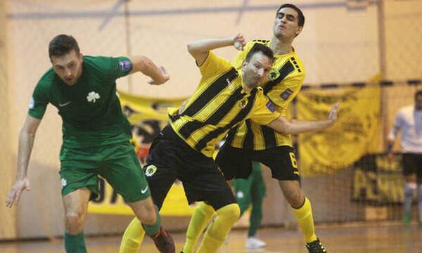 Ποδόσφαιρο σάλας: Τότε παίζει ο Παναθηναϊκός με την ΑΕΚ (photo)