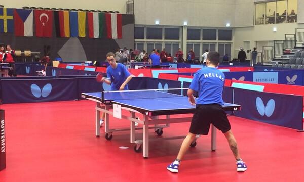 Πινγκ Πονγκ: Στις θέσεις 9-16 του Ευρωπαϊκού πρωταθλήματος Α.Με.Α. ο Χατζηκυριάκος